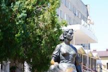 Monument Nonna Mordyukova, Yeysk, Russia