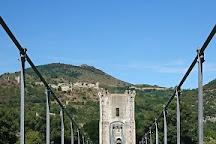 La Passerelle Himalayenne (Le Vieux Pont), Rochemaure, France