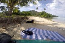 Tereia Beach, Maupiti Island, French Polynesia
