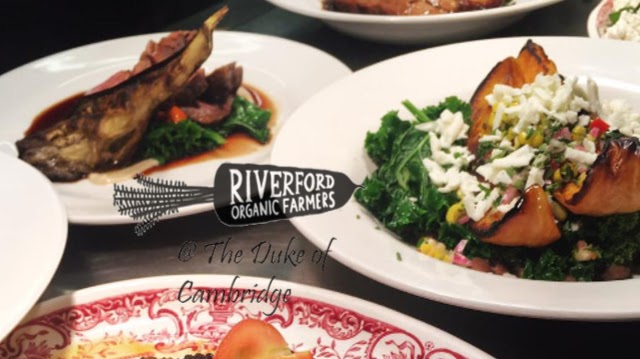 Riverford at the Duke of Cambridge