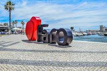 Old Town Faro, Faro, Portugal
