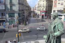 Monumento Marqués De Larios, Malaga, Spain