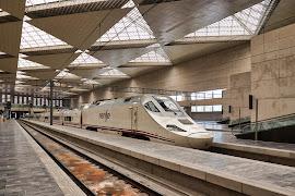 Железнодорожная станция  Zaragoza Delicias