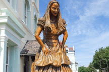 Alice in Wonderland Statue, Llandudno, United Kingdom