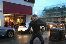 Frank Sidebottom Statue, West Timperley, United Kingdom