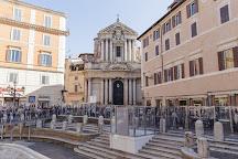 Chiesa Rettoria Santi Vincenzo e Anastasio a fontana di Trevi, Rome, Italy