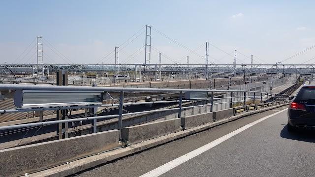 Eurotunnel Loading Platforms