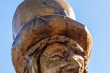 The Mad Hatter Statue, Llandudno, United Kingdom