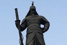 Statue of Admiral Yi Sun-Sin, Seoul, South Korea