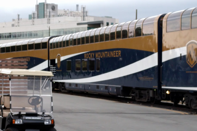 The Rocky Mountaineer, Vancouver, Canada