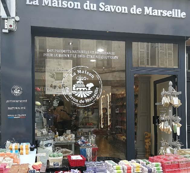 La maison du savon de Marseille La Rochelle