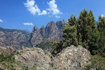 Gorges de Spelunca, Corsica, France