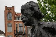 Statue of Multatuli, Amsterdam, The Netherlands