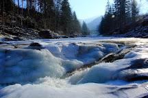 Probiy Waterfall, Yaremche, Ukraine