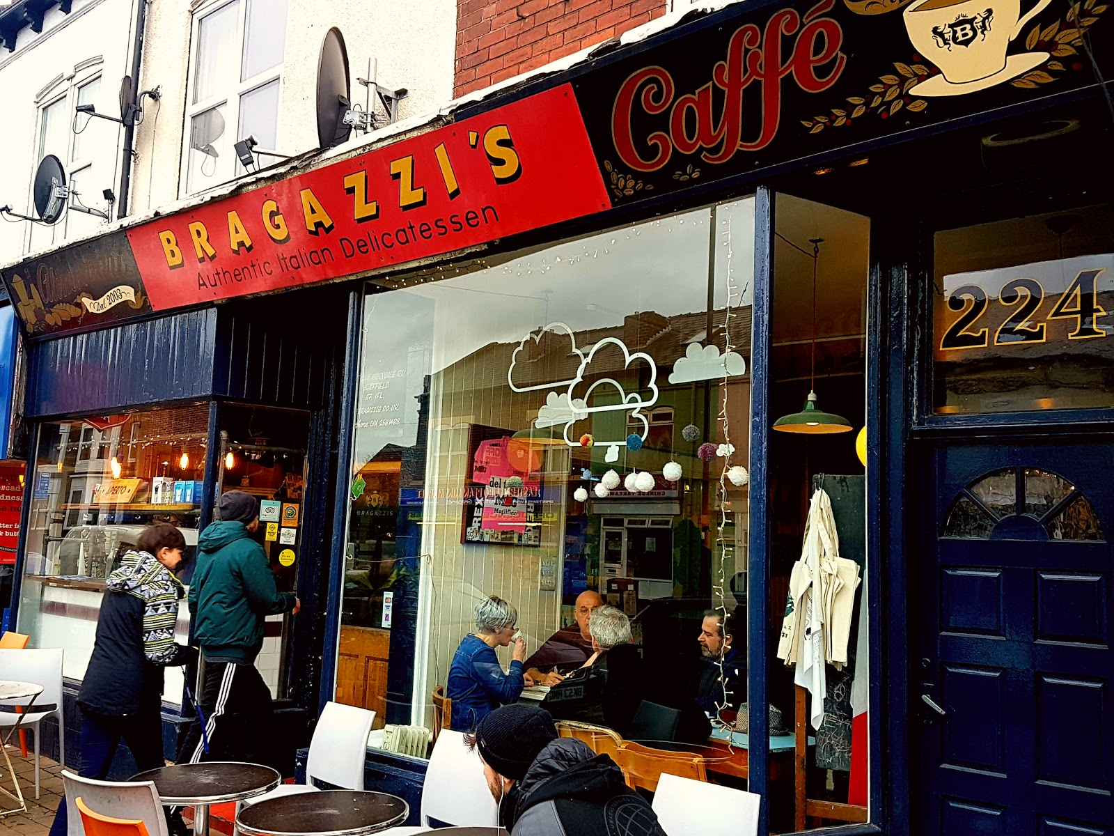 Bragazzis: A Work-Friendly Place in Sheffield