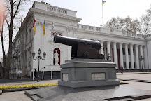The Cannon of the Tiger Fregate, Odessa, Ukraine