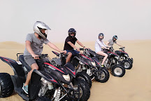 Big Red Quad Bike Rental, Dubai, United Arab Emirates
