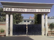 EAB Haroon Bahria College karachi