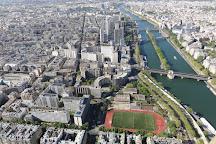 L'île aux Cygnes, Paris, France