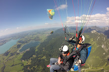 FLY ROYAL Paragliding, Fussen, Germany