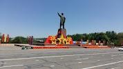 Монумент Ленина на фото Оша