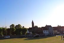 St Janshuis and Koelewei Mills, Bruges, Belgium