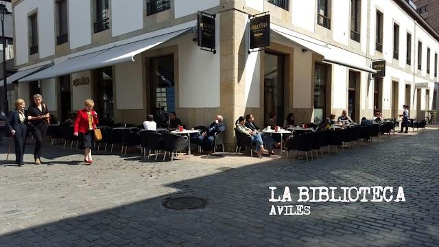 Cafetería La Biblioteca de Avilés
