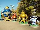 Солнечный парк, Комсомольская площадь на фото Старого Оскола
