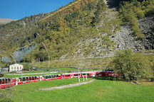 Bernina Express, Swiss Alps, Switzerland