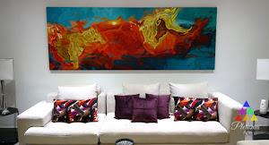 Pleroma Arte y Decoración (Venta de cuadros decorativos / cuadros para sala / cuadros abstractos ) 1