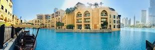 Downtown Souk Al Bahar Apartment with Full Fountain and Burj Khalifa Views на фото Дубая