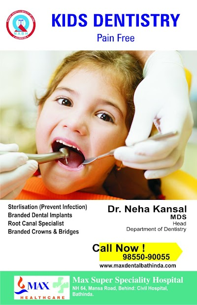 Max Dental Clinic Bathinda - Best Dental Clinic and Implant Center