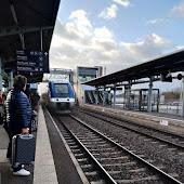 Train Station  Entzheim Aeroport