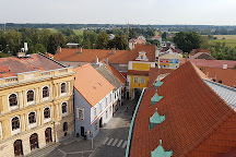 Masaryk Square, Trebon, Czech Republic
