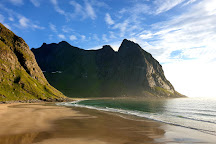 Kvalvika Beach, Moskenesoy, Norway
