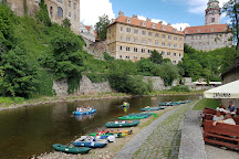 Historie mesta Ceský Krumlov, Cesky Krumlov, Czech Republic