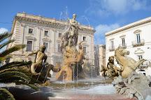 Fountain of Diana, Syracuse, Italy
