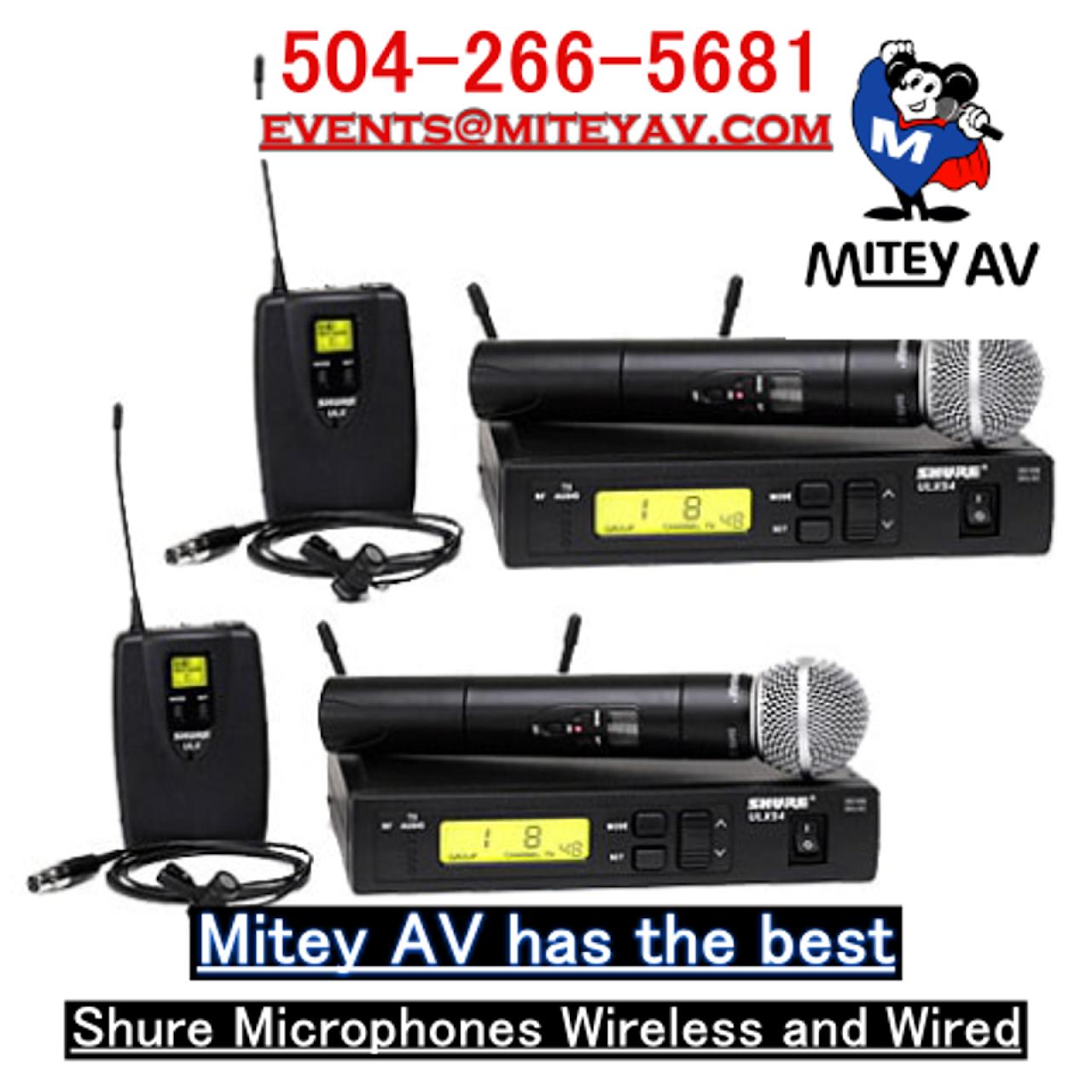Audio Visual Equipment Rental New Orleans, LA