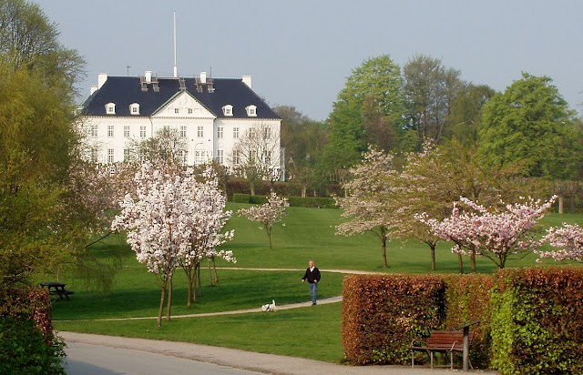 Mindeparken. Carl Nielsens Vej (Aarhus)