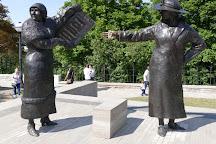 Famous Five Monument, Ottawa, Canada
