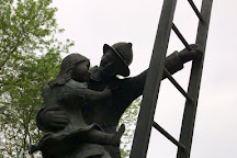 Iowa Firefighters Memorial, Coralville, United States