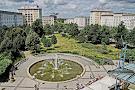Springbrunnen auf dem Ulrichplatz