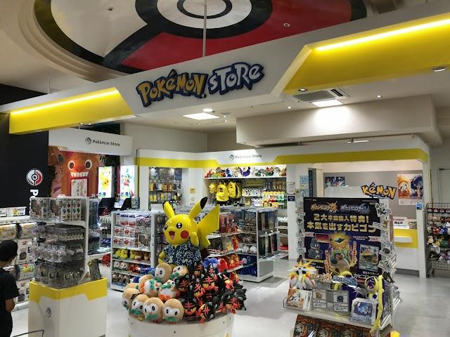 Pokemon store Okinawa Kokusai Street shop