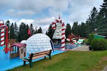 Village du Pere Noel, Val David, Canada