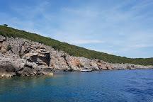 Blue Grotto, Luštica, Montenegro