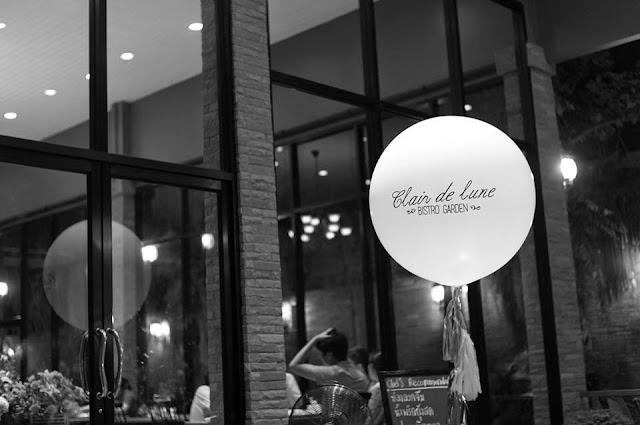 Clair De Lune Bistro Garden แคลร์ เดอ ลูน บิสโทร์ การ์เด้น
