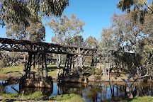 The Prince Alfred Bridge, Gundagai, Australia