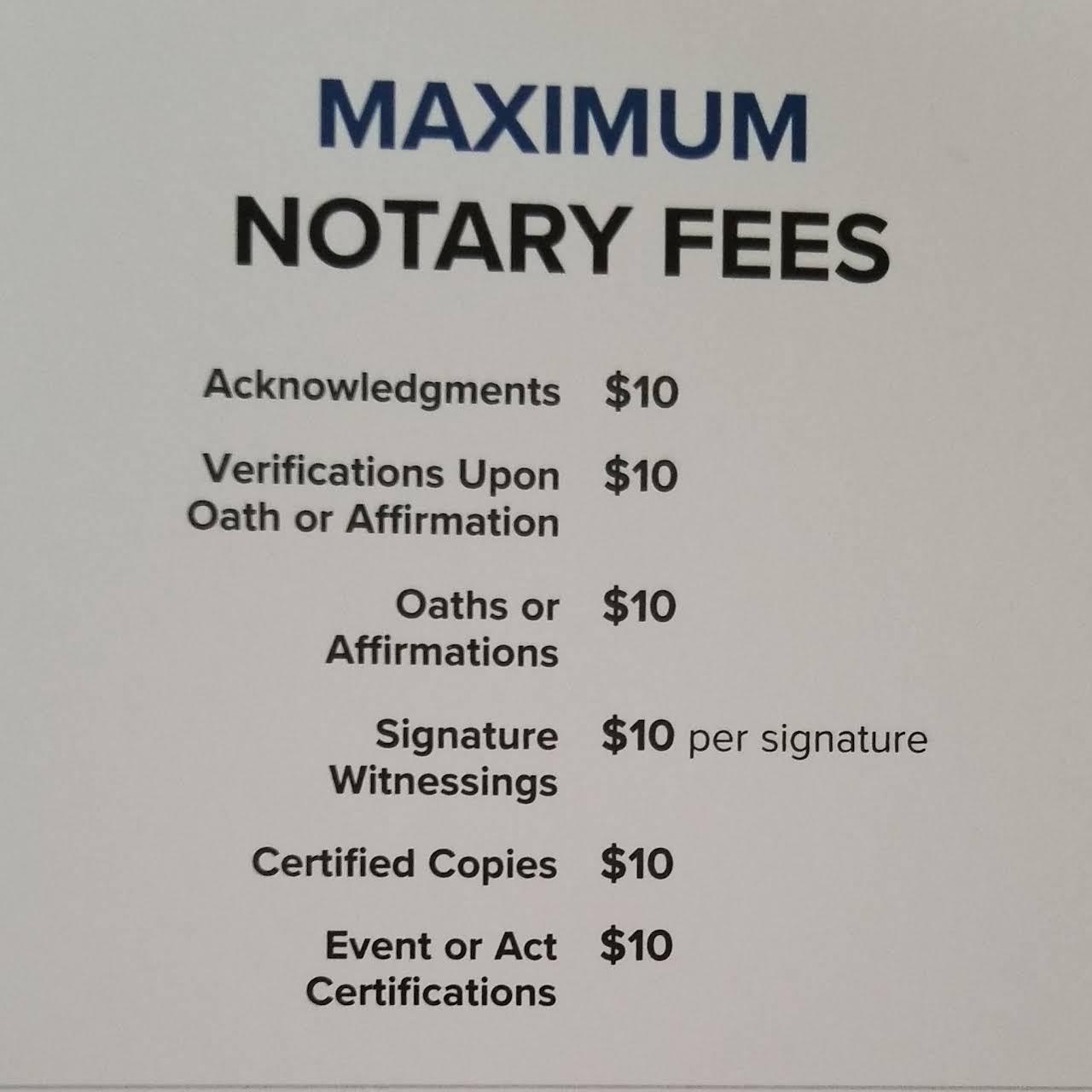 notarypro today llc  notary public in pierce thurston