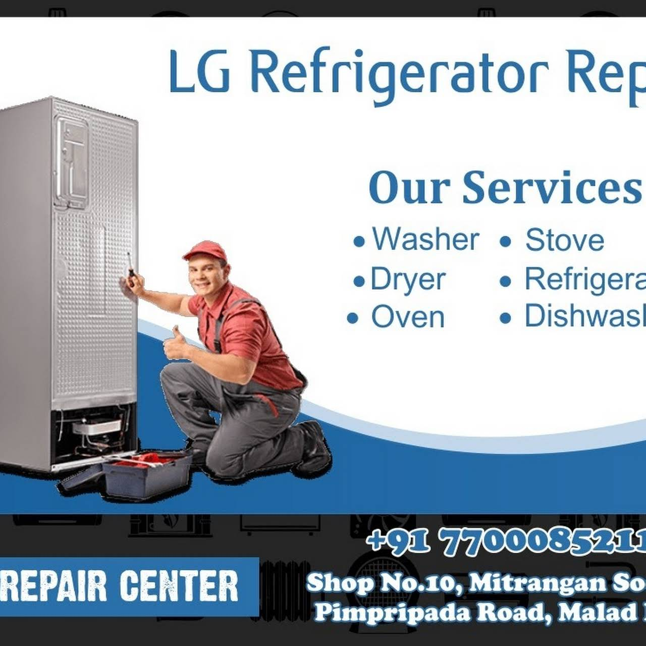 Zee Repair Service Lg Service Center In Malad Goregaon Refrigerator Repair Service In Goregaon