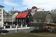 Arnarholl Statue, Reykjavik, Iceland